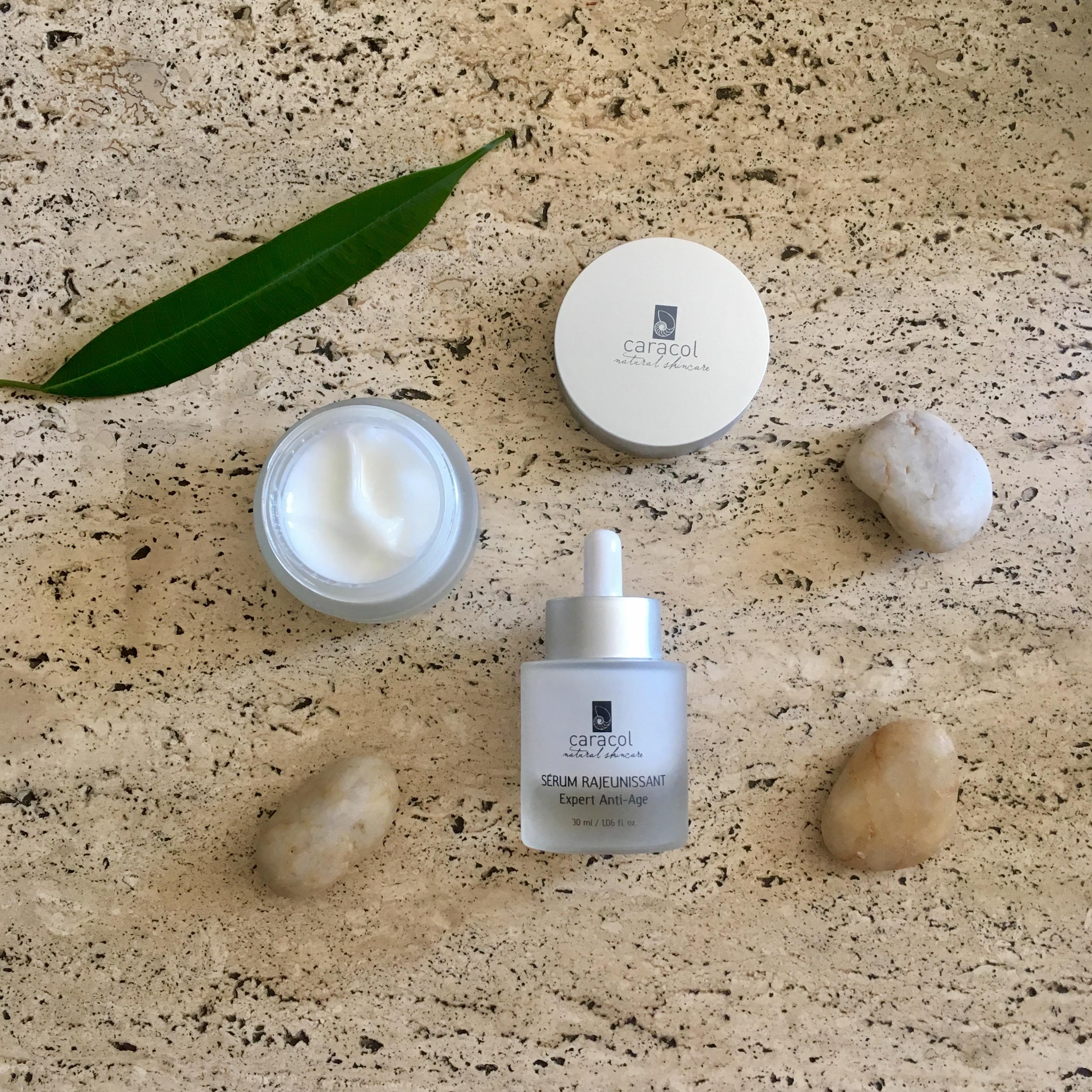 Assortiments de produits Caracol Natural Skincare